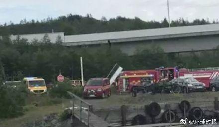 瑞典北部城市于默奥飞机坠毁9人遇难